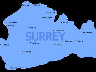 surrey-maps